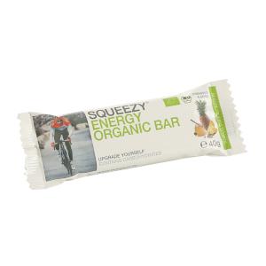 SQUEEZY ENERGY ORGANIC BAR Einzelriegel Ananas-Mandel